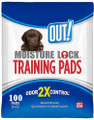 OUT! Moisture Lock Training Pads - 100 Pads