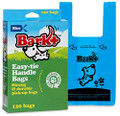 Bark - Count Dog Waste Bags with Handle, Blue