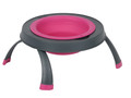 Single Elevated Pet Bowl - Small Pink