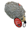 """Plush Dog Toy - Hedgehog 8"""" - Soft, Cute and Cuddly! Squeaker in Body"""