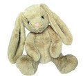 "Plush Dog Toy – Rabbit 15"" – Soft, Cute and Cuddly! - Grunter in Body"