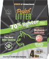 Perfect Litter - One Month Supply - Lightweight Litter (4 lb) - USA Made