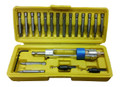 Flip-Bit, Reversible Power Drill/Driver Bit Set