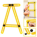 Template Tool, Angle-Measurement Adjustable Ruler