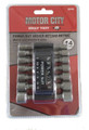 14-Pc. Power Nut Driver Set - SAE and metric