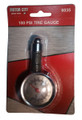 100 PSI Dial Tire Gauge, SAE and metric