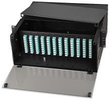 72- to 288-Fiber High-Density Slide-Out Rack-Mount Optical Fiber Enclosure