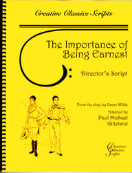The Importance of Being Earnest - Director Script
