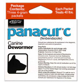 Panacur C Canine Dewormer Three 1 Gram Packages
