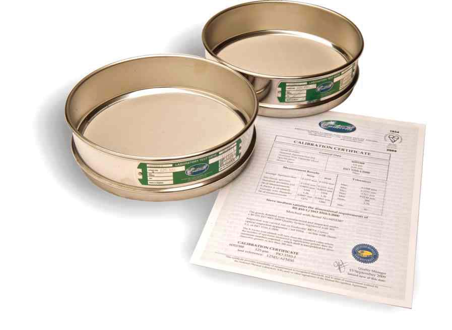 Laboratory Test Sieve Packages
