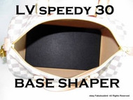 BASE SHAPER FOR LOUIS VUITTON SPEEDY 30 IN BLACK