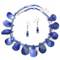 Blue Shell - Necklace Set