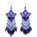 Rising Star - Beaded Earrings