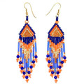 Colors on Parade - Beaded Earrings