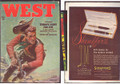"1947 WEST ""ZORRO FIGHTS FOR LIFE"" PULP WESTERN HERO"