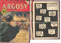 "ARGOSY 04-22-1933 ""ZORRO HUNTS A JACKAL"""