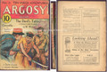 SCARCE 1932 ARGOSY WEEKLY ZORRO SAVES A FRIEND
