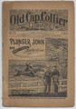 1895 OLD CAP COLLIER 616 RACE-TRACK DETECTIVE DIME NOVEL STORY PAPER