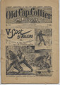 1898 OLD CAP COLLIER #749 SEVERED HAND DIME NOVEL STORY PAPER