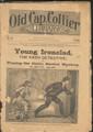 "1884 OLD CAP COLLIER LIBRARY # 24 DETECTIVE DIME NOVEL ""SEE VIDEO FOR BEST DESCRIPTION"""