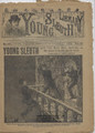1892 YOUNG SLEUTH LIBRARY # 101 FRANK TOUSEY DIME NOVEL SEE VIDEO FOR BEST DESCRIPTION