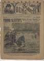 1892 YOUNG SLEUTH LIBRARY # 103 FRANK TOUSEY DIME NOVEL SEE VIDEO FOR BEST DESCRIPTION