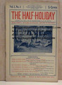 THE HALF-HOLIDAY # 04 UPTON SINCLAIR SCARCE DIME NOVEL STORY PAPER