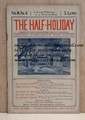 THE HALF-HOLIDAY # 11 UPTON SINCLAIR SCARCE DIME NOVEL STORY PAPER