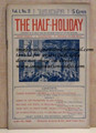 THE HALF-HOLIDAY # 21 UPTON SINCLAIR SCARCE DIME NOVEL STORY PAPER