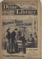 BEADLES NEW YORK DIME LIBRARY # 863 BUFFALO BILL DEATH-CHARM :THE MAN With A SCAR DIME NOVEL