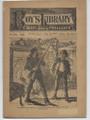 1884 BEADLES BOY'S LIBRARY OF SPORT, STORY & ADVENTURE # 281 JOE CURD'S DOUBLE DIME NOVEL