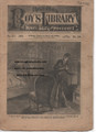 1887 BEADLES BOY'S LIBRARY OF SPORT, STORY & ADVENTURE # 189 JACK'S SNARE