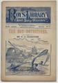1892 BORDER BOY'S LIBRARY OF SPORT, STORY & ADVENTURE VOL 1 # 10 DIME NOVEL