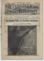 BEADLE'S POCKET LIBRARY #46 THE SHADOW SHIP DIME NOVEL