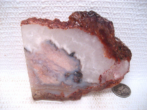 Prudent Man Plume Agate``