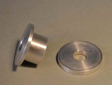 Bushing and washer for CBN wheels