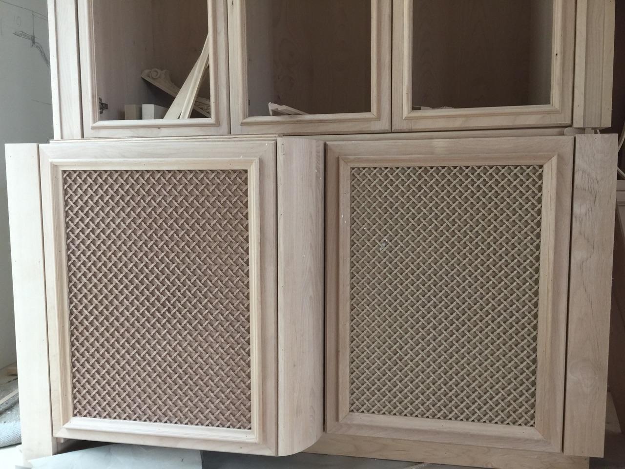 Custom Resin Cabinet Inserts