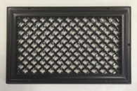 14x8 Ribbon Resin Grille in Oil Rubbed Bronze Finish
