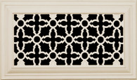 "Heritage decorative. Paint grade. Shown in 12"" x 6"""