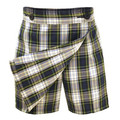 Plaid Skort w/ Buttons - Half Sizes - CTK Catholic School