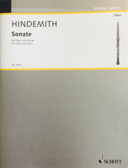 Hindemith Sonata for Oboe and Piano
