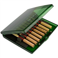 8 Oboe Reed Protec Case - Transparent Lime