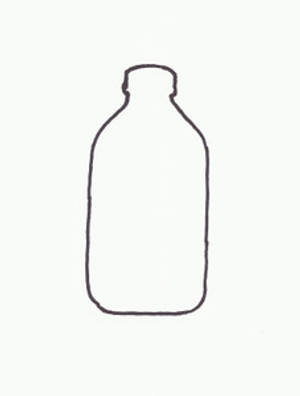 MILK BOTTLE HALF GALLON