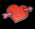1405 LOVESTRUCK SM cookie cutter