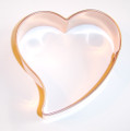 1400D FUNKY HEART B MED cookie cutter