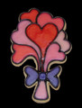 1400A HEART BOUQUET cookie cutter
