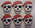 5000 PIRATE SKULL COOKIE CUTTER