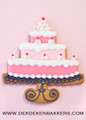 CAKE 3 TIER STR W PEDESTAL COOKIE CUTTER