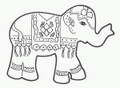 ELEPHANT INDIAN COOKIE CUTTER