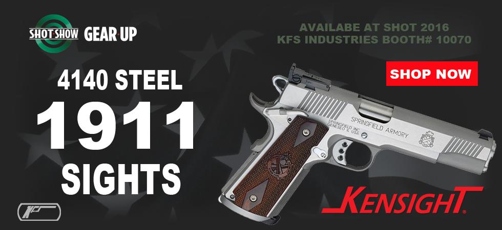 4140 Steel 1911 Sights